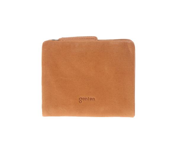 736d4a304695 genten ゲンテン Gソフト 二つ折り財布 外小銭   財布   革財布、バッグ ...